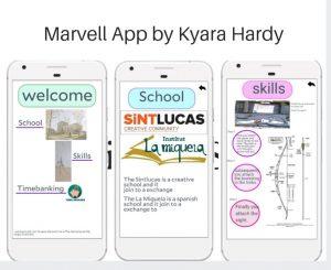 Marvell App - tiro con arco por Kyara Hardy