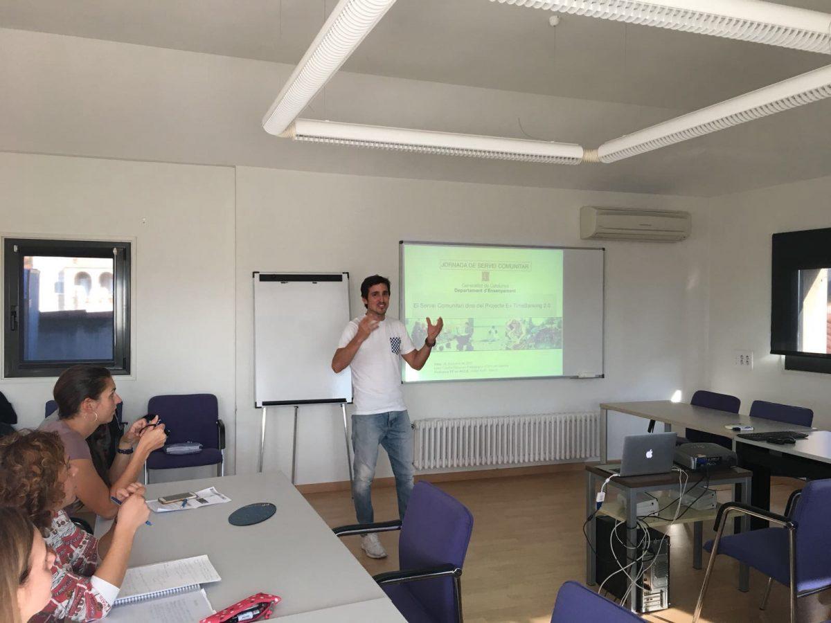 Servicio y aprendizaje dentro TimeBanking 2.0 Presentación